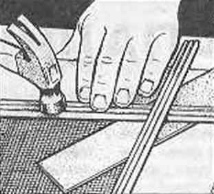 Рис. 13. Крепление лицевых (декоративных) реек