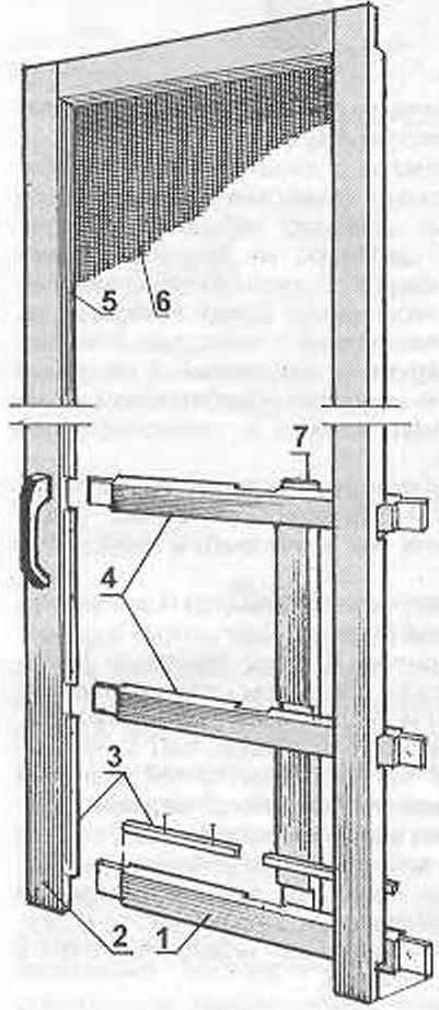 Рис. 1. Сетчатая («антимоскитная») дверь