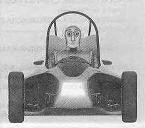 Гоночный автомобиль «Адреналин»