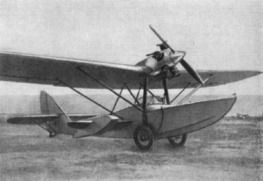 SEAPLANE W-2