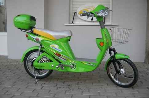 E-BIKES WITH AUTOMATIC TRANSMISSION