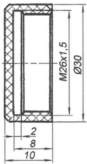 Рис. 2. Крышка токоподвода