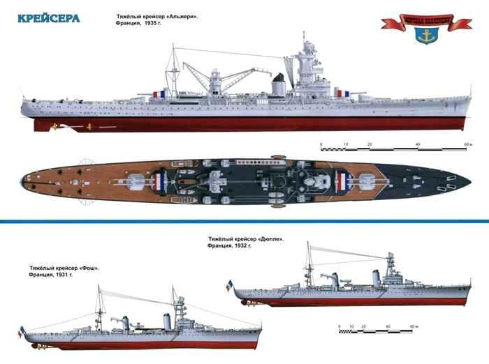 Французские лёгкие крейсера
