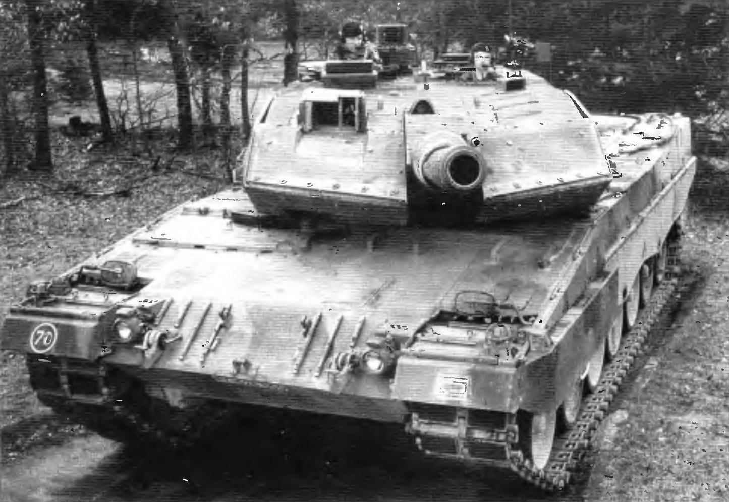 Основной боевой танк «Леопард» 2А5
