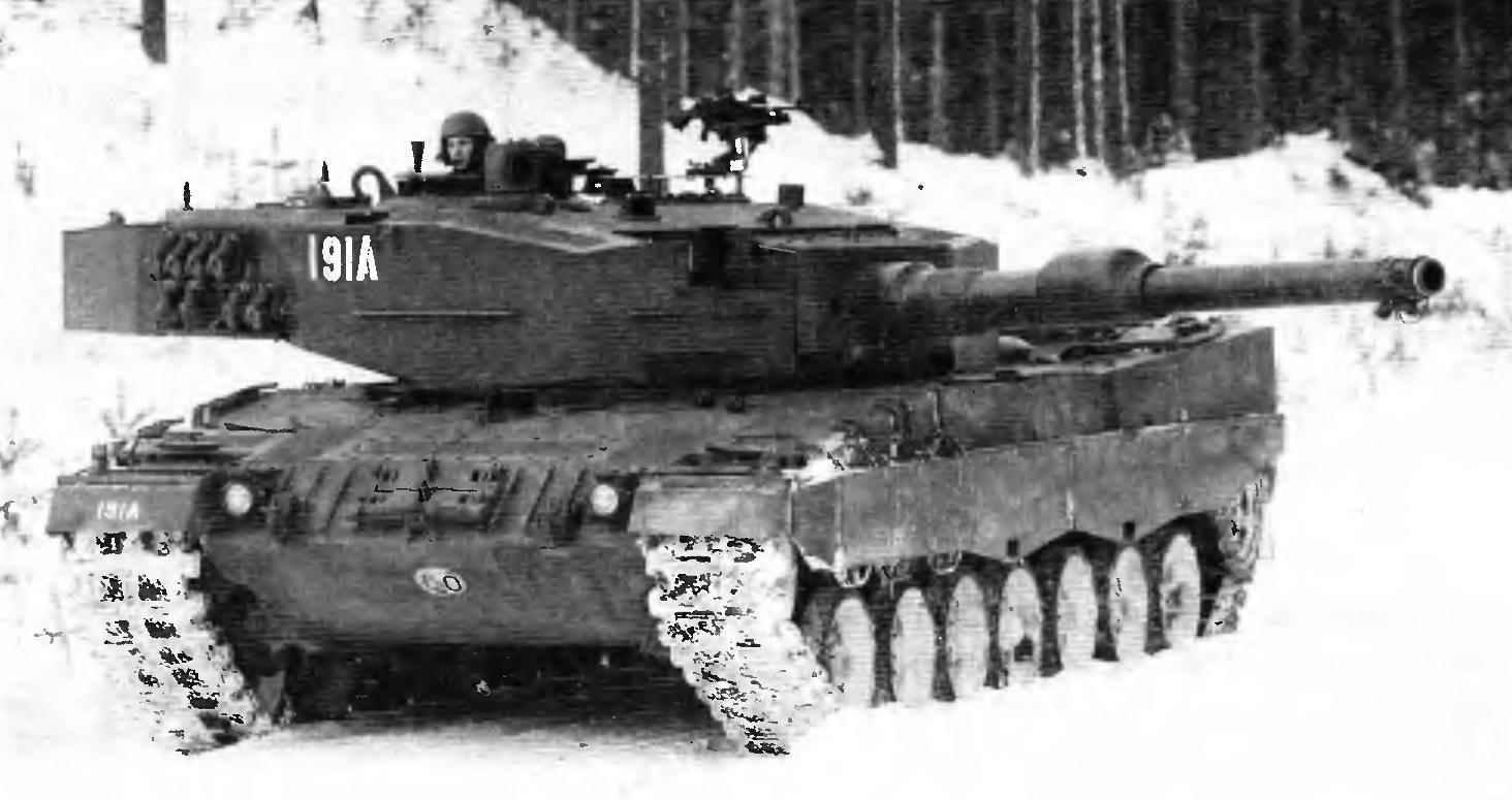 Основной боевой танк «Леопард» 2А4 (2NО) норвежской армии