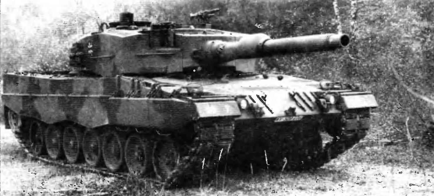 Основной боевой танк «Леопард» 2А4