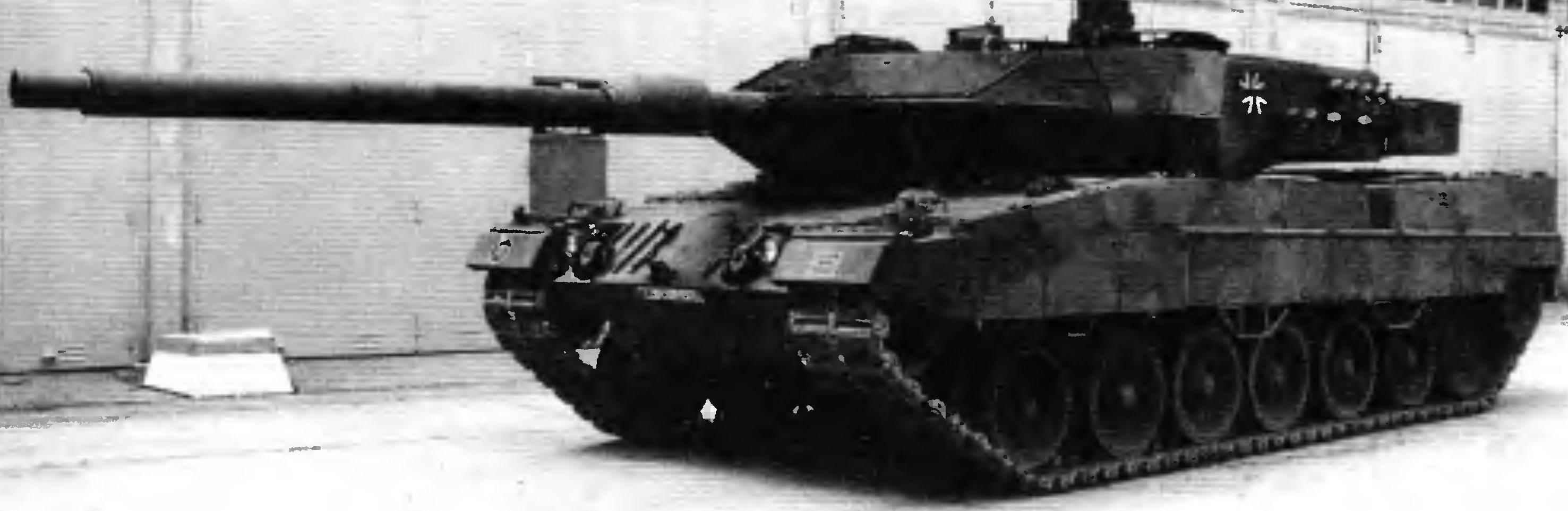 Основной боевой танк «Леопард» 2А6