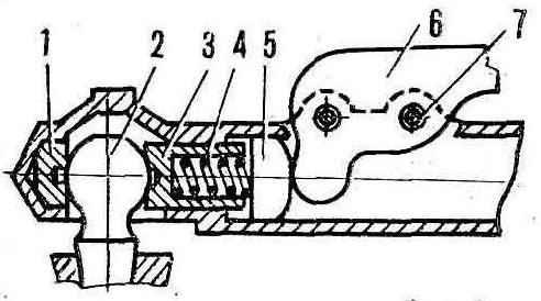 Fig. 4. Diagram hitch