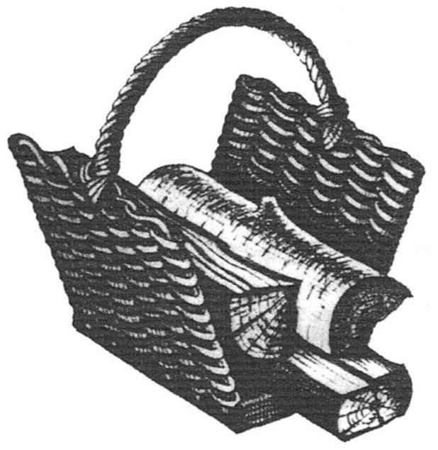 Корзина для носки дров: её преимущества налицо