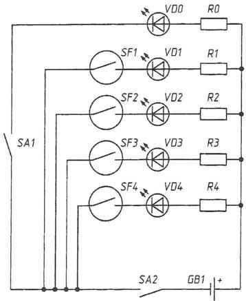 Рис. 5. Система охраны помещений