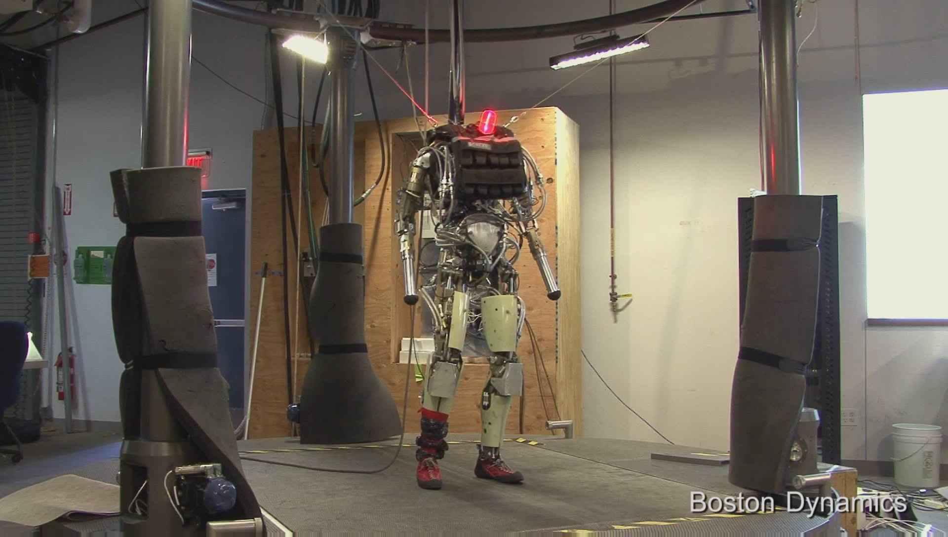 PETMAN ROBOT MAN