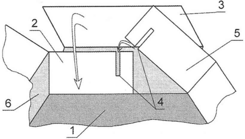 Рис. 3. Формирование боковины (правой) коробки