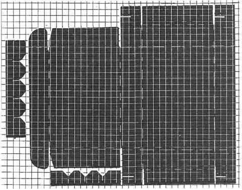 Рис. 5. Выкройка кляссера
