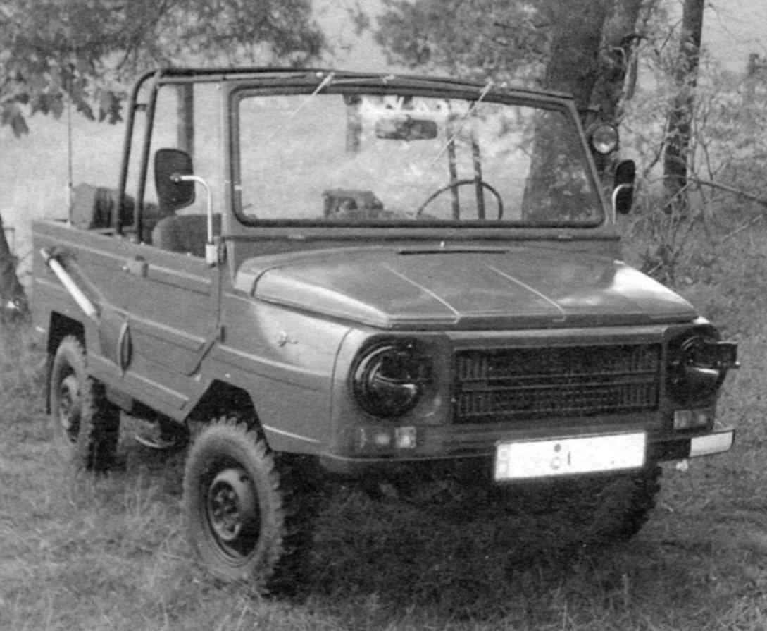 ЛуАЗ-969М — армейский вариант внедорожника