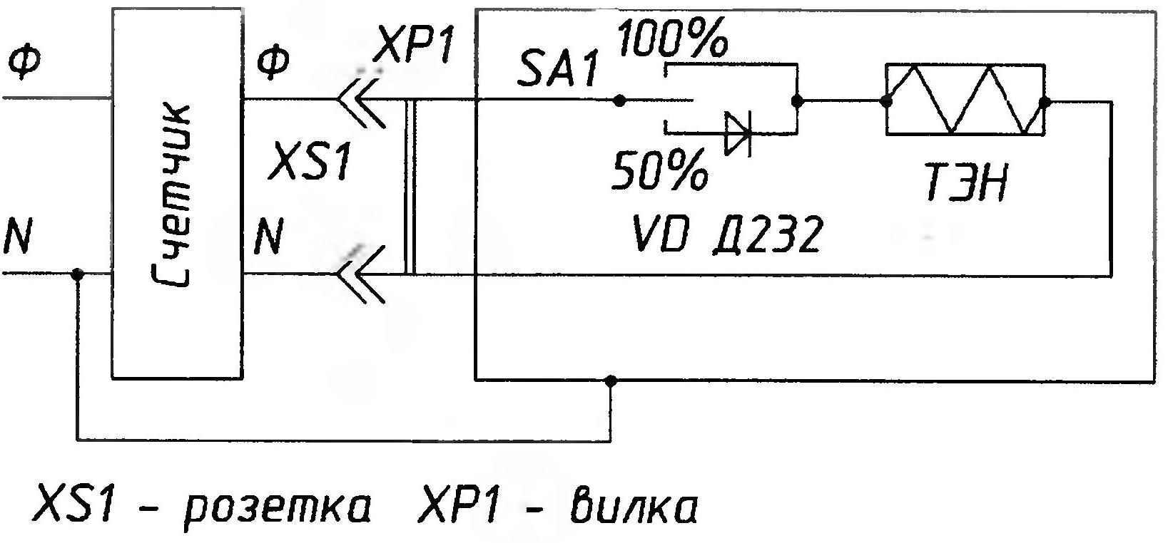 электросхема терморегулятора mtr-2