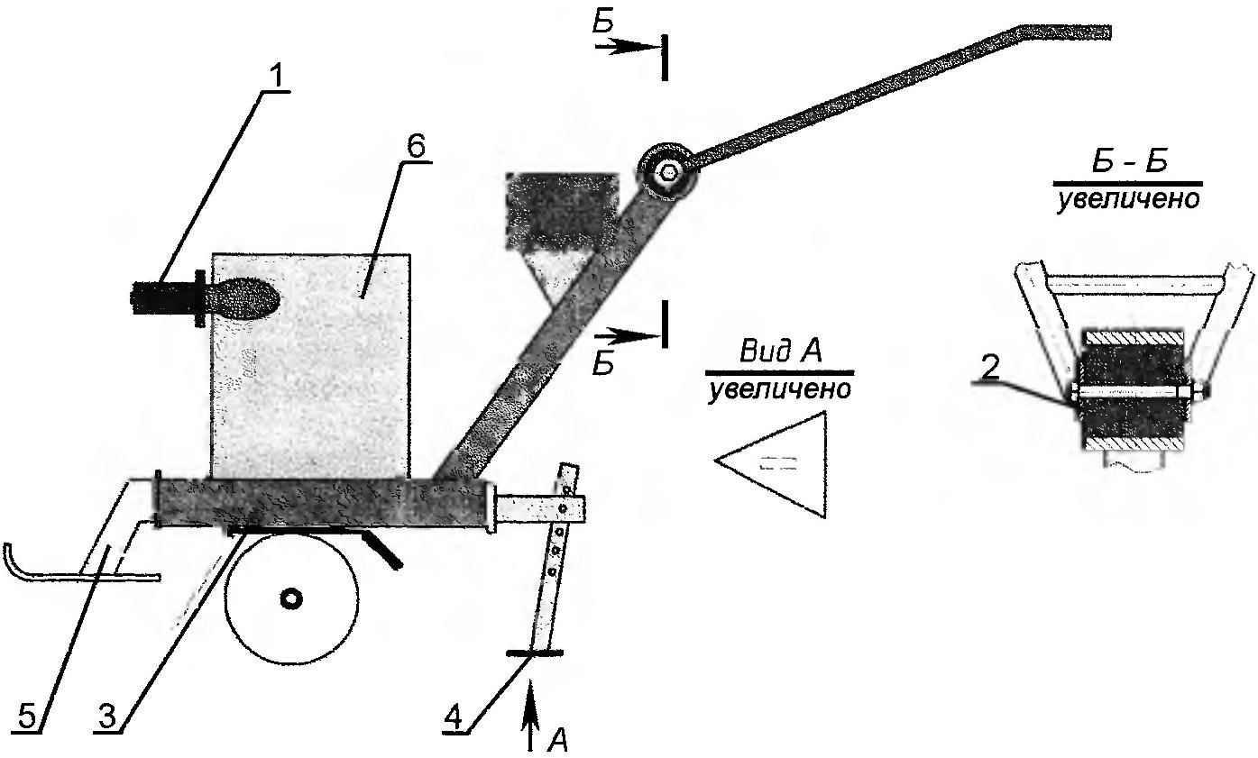 Модернизация мотокультиватора