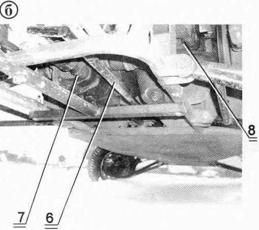 Схема привода переключения передач и фигурная тяга