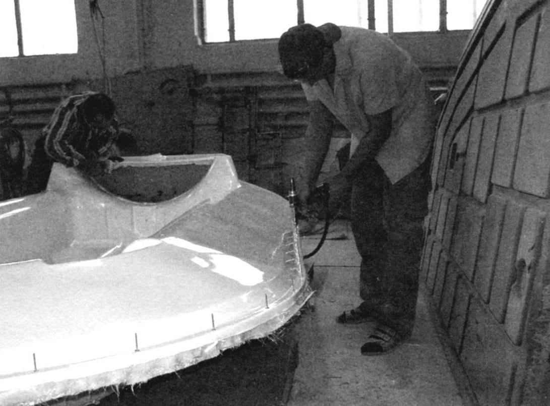 Готовый стеклопластиковый корпус «Аэроамфибии»