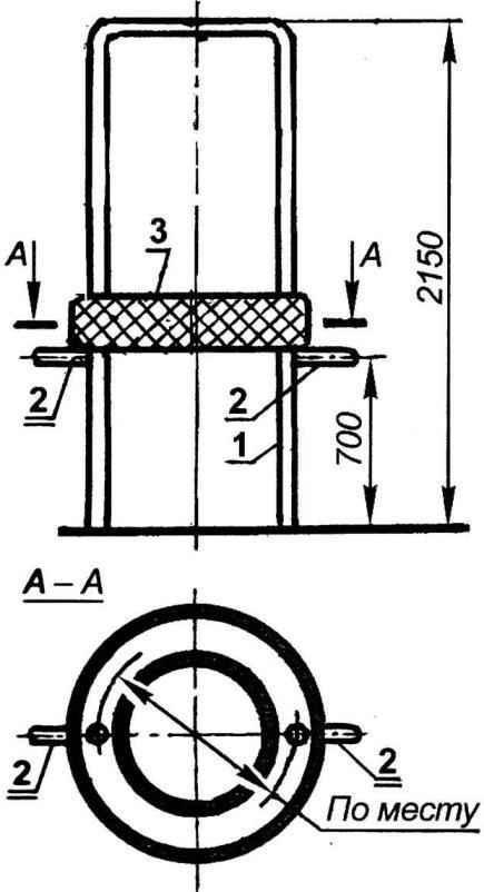 Fig. 7. Ring handles, horizontaliai