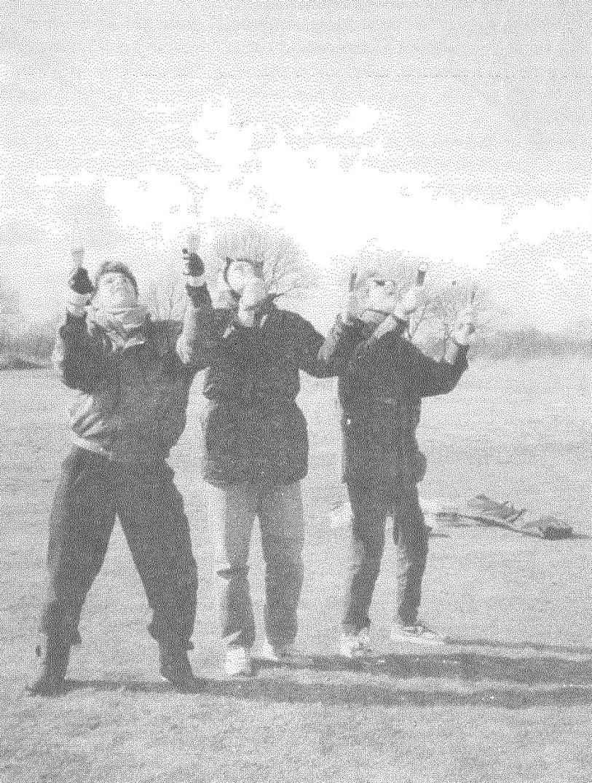 Experienced smebody easily perform aerobatics group