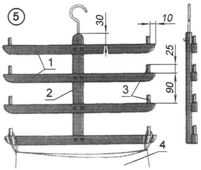 Рис. 5. Вешалка для юбок