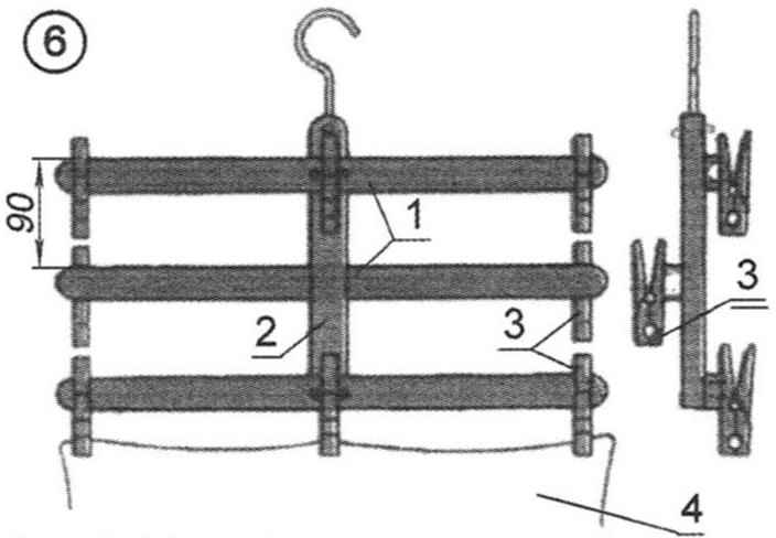 Рис. 6. Облегчённая вешалка