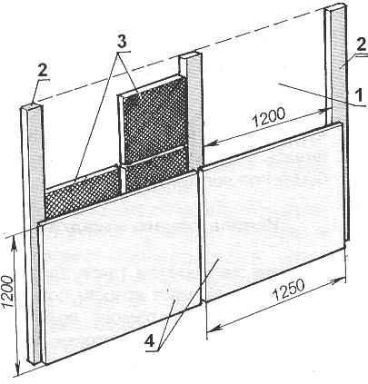 Fig. 9. Insulation wall mats