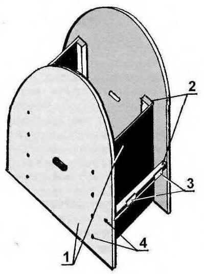 Рис. 1. Шаблон для гибки гипсокартона