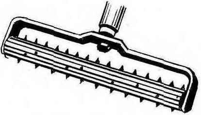 Рис. 2. Игольчатый валик для перфорирования одной из поверхностей гипсокартона перед изгибанием