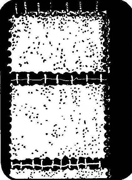 Блок проема, подготовленный к распиливанию