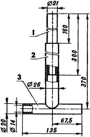 Рулевая колонка (самодельный вариант)