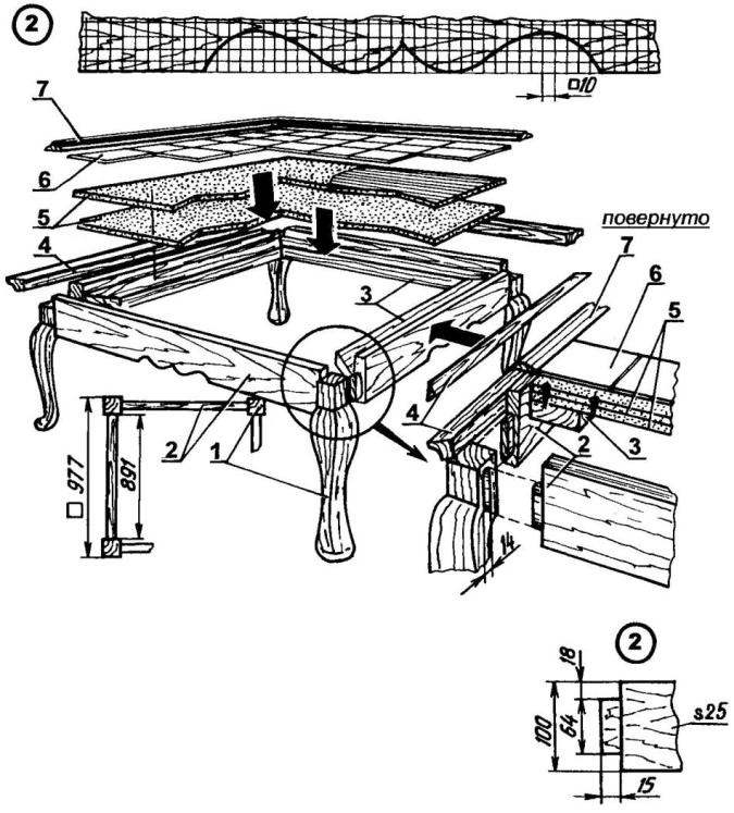 Ножки для мебели своими руками