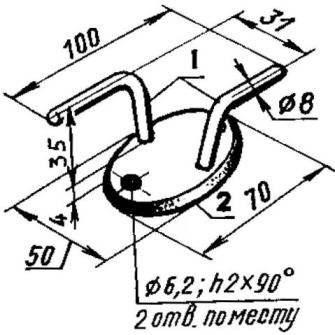 Якорно-швартовочная утка