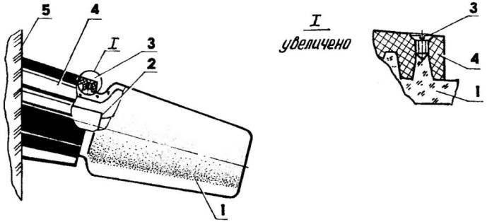 Потайная фиксация плафона для защиты лампы от несанкционированного доступа
