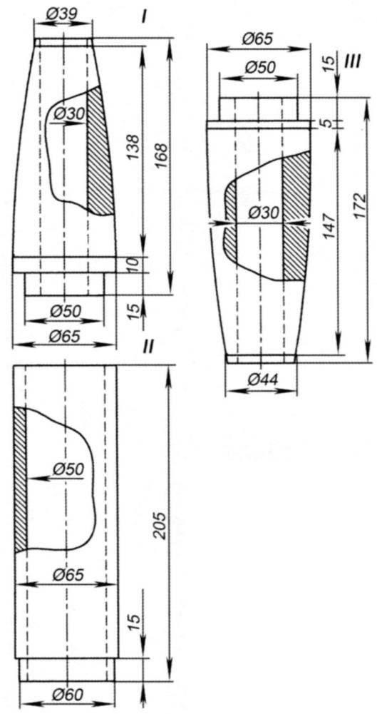 корпуса моделей ракеты Р-1