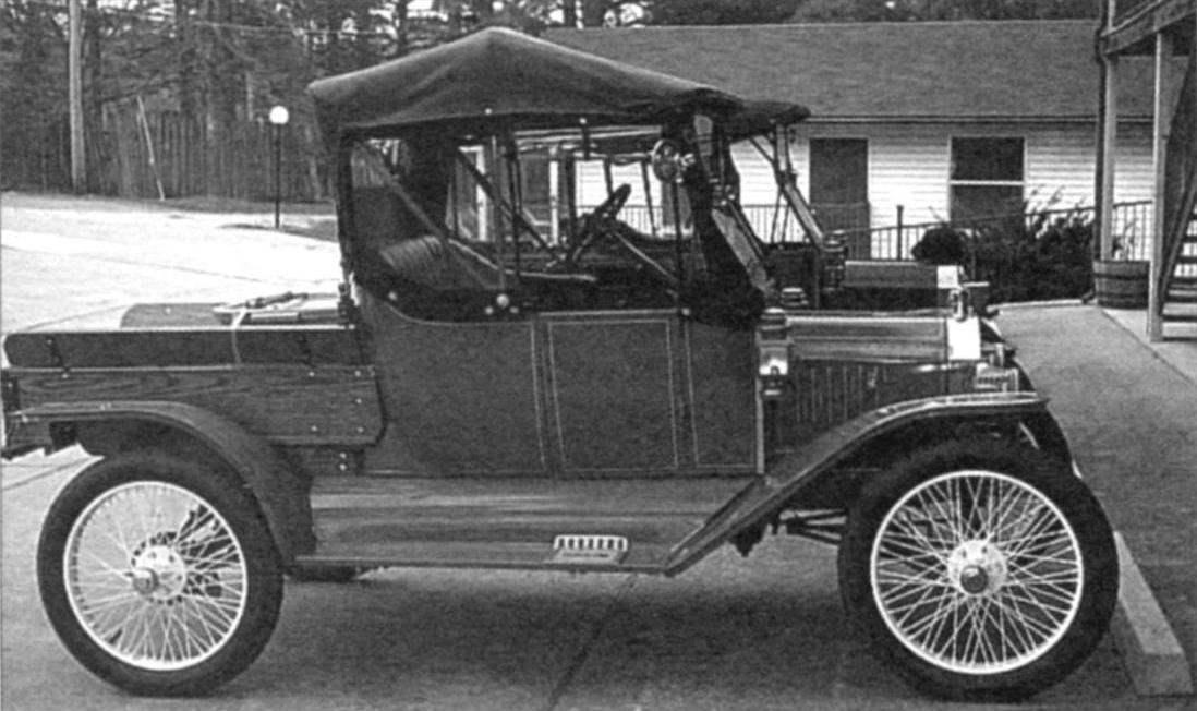 Ford-T «пикап» выпуска 1909 года