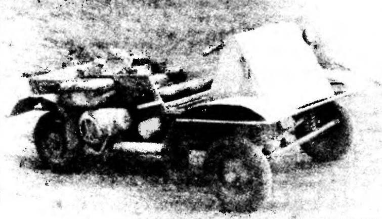 Тележка с двигателем ВП-150М