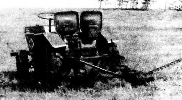 «Малютка-3» в варианте сенокосилки