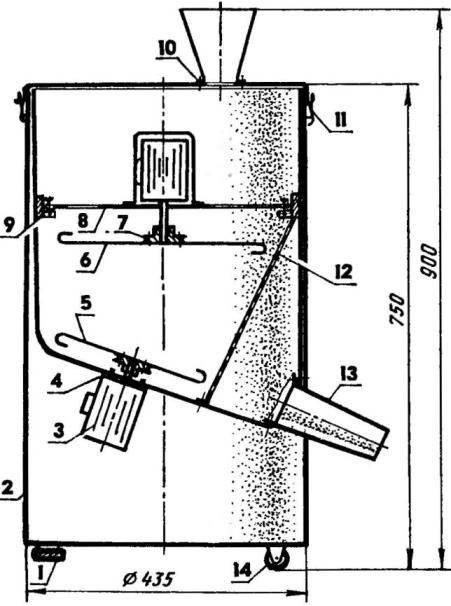 Шишкодробилка своими руками чертежи 63