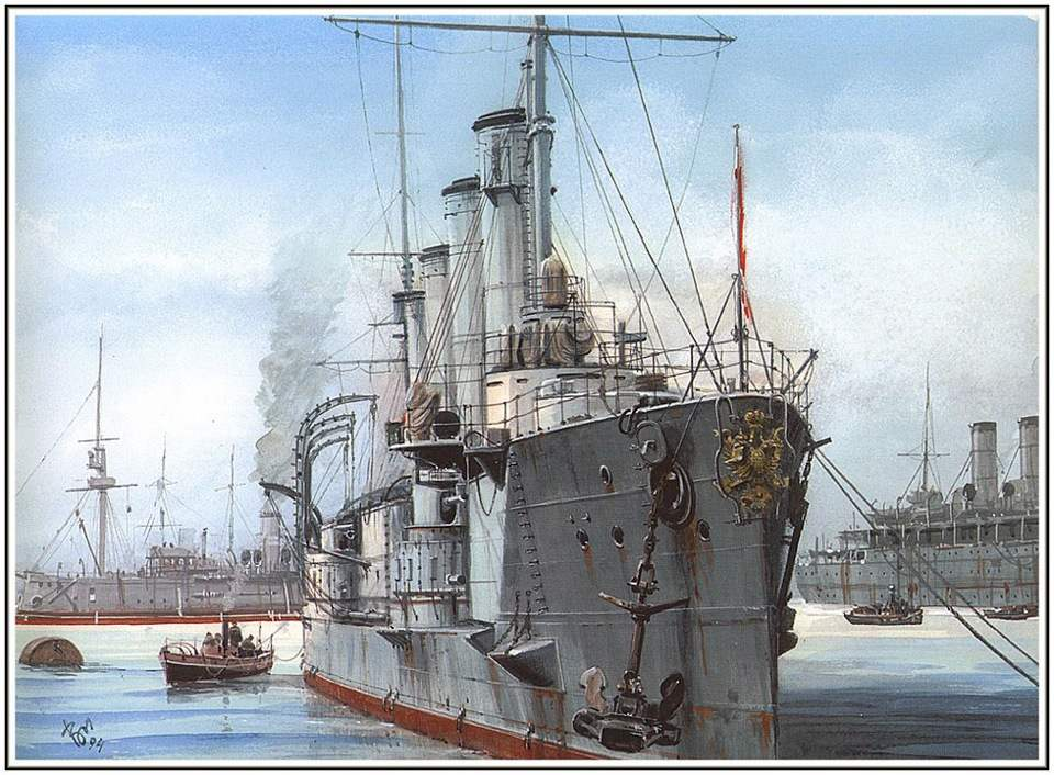 ARMORED CRUISER 1ST RANK BAYAN