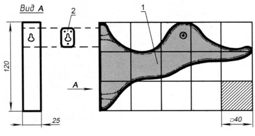 Крючок вешалки в виде уточки