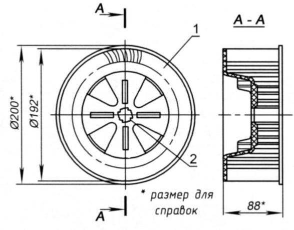 Колесо вентилятора кондиционера
