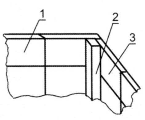 Оформление угла коробки или футляра