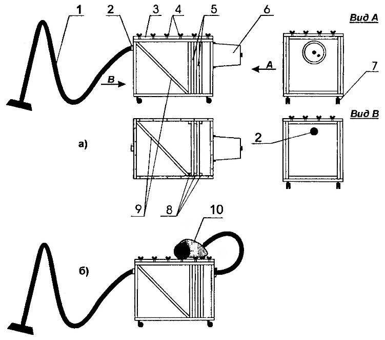 Схема макси-пылесоса