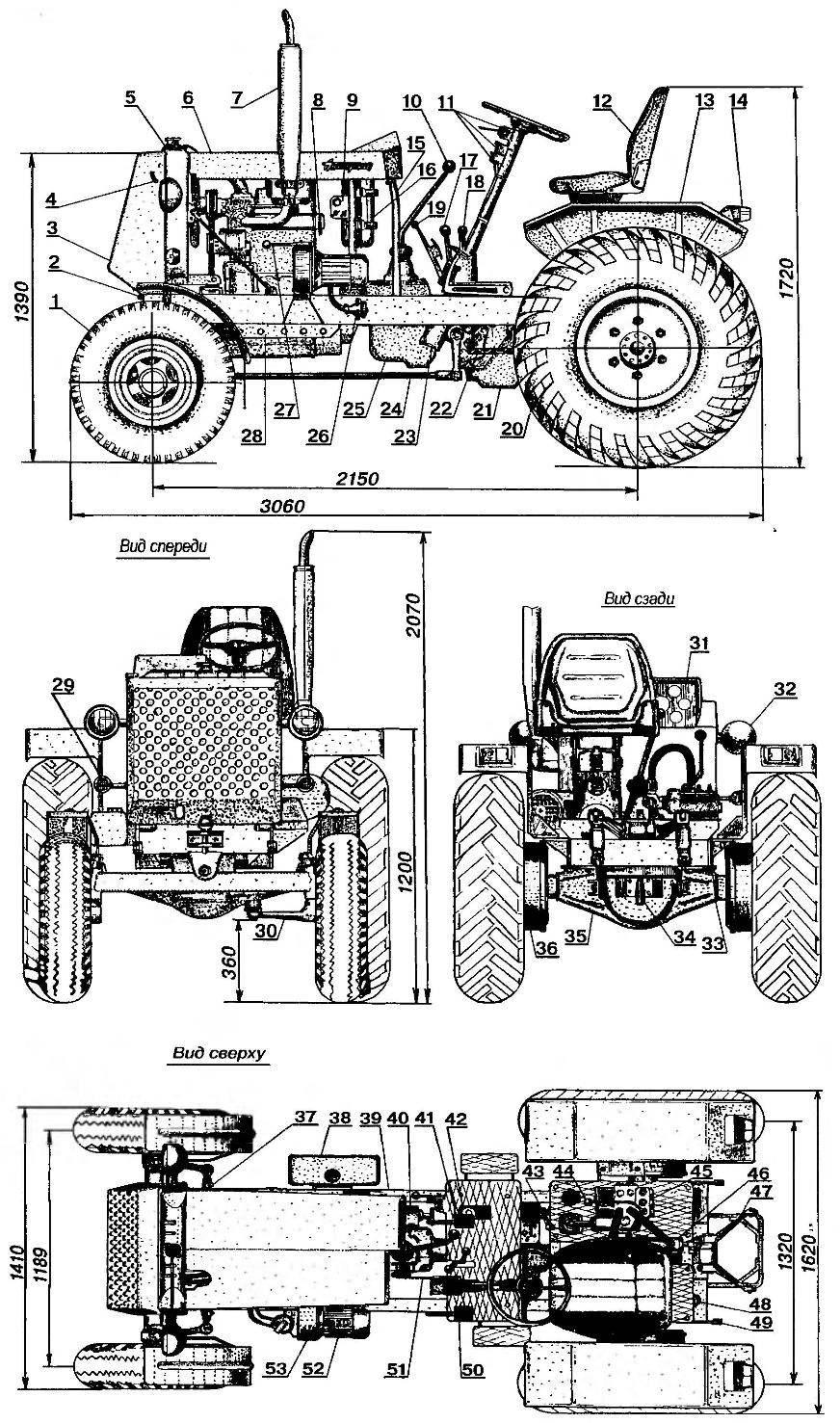 Трактор «Ангарец»