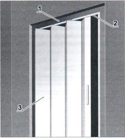 Дверь-«Гармошка»