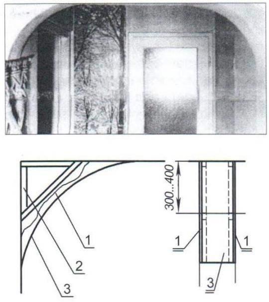 Арка дверного проёма