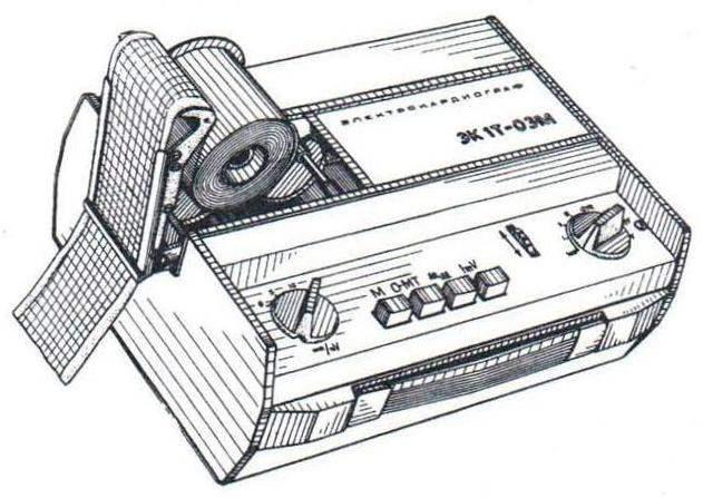 Рулон термобумаги длиной 50 метров обеспечивает 30 минут непрерывной записи показаний прибора