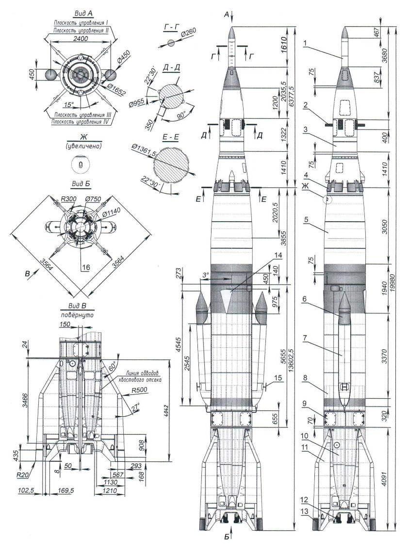 Геофизическая ракета Р-2А