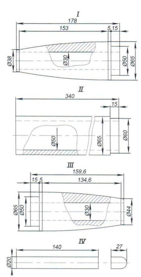 модели-копии ракеты Р-2А